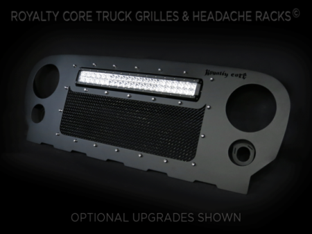 Grilles - RCRXT - Royalty Core - Jeep Wrangler 2007-2016 RCRX LED Race Line Full Grille Replacement-Top Mount LED