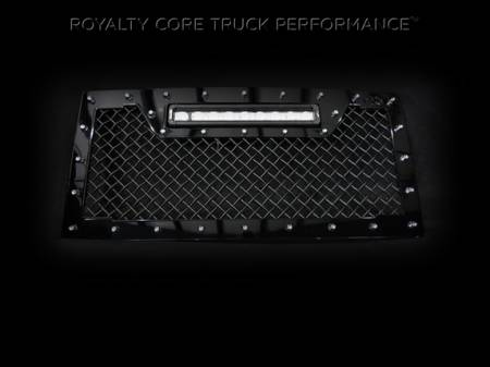 Wrangler - 2007-2016 - Royalty Core - Jeep Wrangler 2007-2016 RC1X Incredible LED Grille