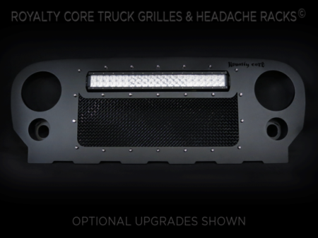 Royalty Core - Jeep Wrangler 2007-2017 RCRX LED Race Line Full Grille Replacement-Top Mount LED - Image 2