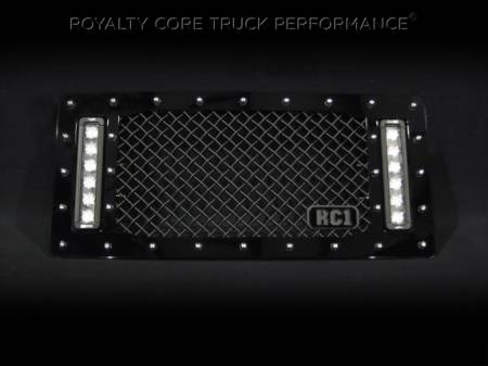 Royalty Core - Jeep Wrangler 2007-2017 RCX Explosive Dual LED Grille - Image 2
