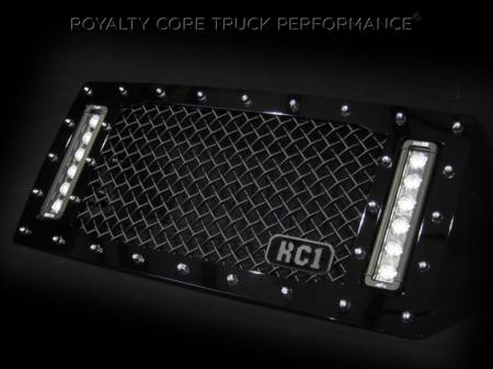 Royalty Core - Jeep Wrangler 2007-2017 RCX Explosive Dual LED Grille - Image 3