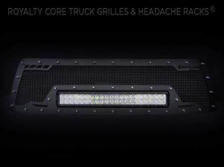 Grilles - RCRXB - Royalty Core - Toyota Tundra 2010-2013 RCRX LED Race Line Grille