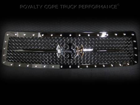 Royalty Core - Toyota Tundra 2010-2013 RC1 Main Grille with Black Sword Assembly - Image 3