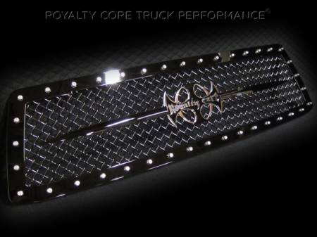 Royalty Core - Toyota Tundra 2010-2013 RC1 Main Grille with Black Sword Assembly - Image 4