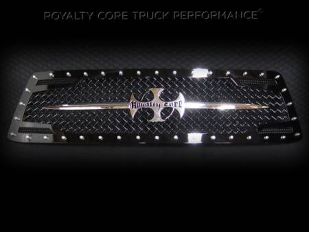 Royalty Core - Toyota Tundra 2010-2013 RC2 Main Grille with Chrome Sword Assembly - Image 1