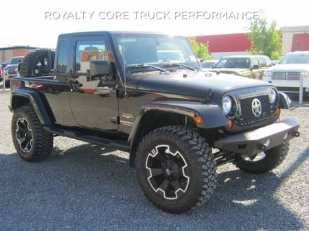 Wrangler - 2007-2016 - Royalty Core - Jeep Wrangler 2007-2016 RC1 Main Grille Gloss Black with Chrome War Star