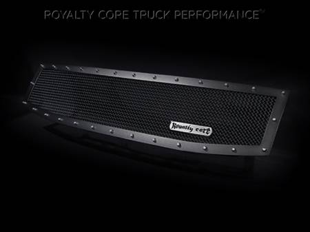Royalty Core - Nissan Titan 2004-2015 Full Grille Replacement RCR Race Line Grille - Image 4