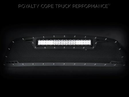 Grilles - RCRXT - Royalty Core - GMC Sierra & Denali 1500 2003-2006 RCRX LED Race Line Grille-Top Mount LED