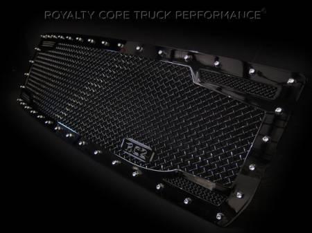 Royalty Core - GMC Sierra & Denali 1500 2007-2013 RC2 Twin Mesh Grille - Image 2