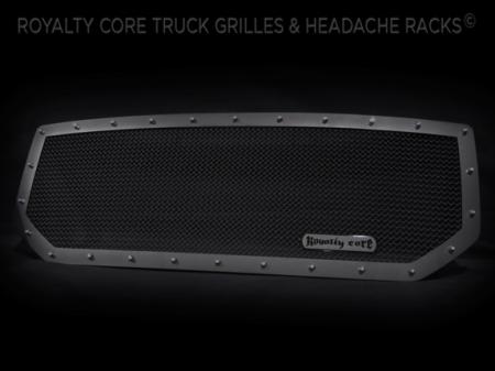 Grilles - RCR - Royalty Core - GMC Sierra 1500, Denali, & All Terrain 2016-2017 RCR Race Line Grille