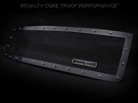 Grilles - RCR - Royalty Core - GMC Sierra HD 2500/3500 2011-2014 RCR Race Line Grille