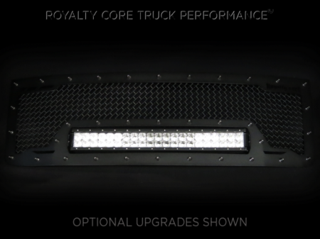 Grilles - RCRXB - Royalty Core - GMC Denali HD 2500/3500 2011-2014 RCRX LED Race Line Grille