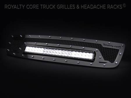 Royalty Core - GMC Sierra HD 2500/3500 2003-2006 RCRX LED Race Line Grille - Image 3