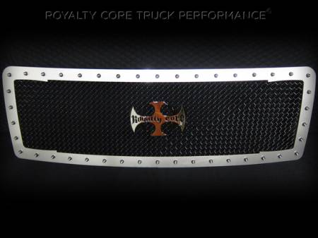 F-150 - 2013-2014 F-150 Grilles - Royalty Core - Ford F-150 2013-2014 RC1 Factory Color Match Main Grille with Center Emblem