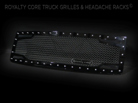 2500/3500 Denali - 2007-2010 - Royalty Core - GMC Sierra HD 2500/3500 2007-2010 RC2 Twin Mesh Grille
