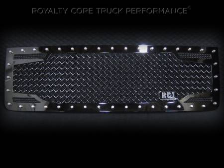 Grilles - RC2 - Royalty Core - GMC Sierra 2500/3500 HD 2007-2010 RC2 Main Grille with 5.0 Super Mesh