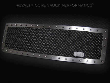 Royalty Core - GMC Sierra 2500/3500 HD 2011-2014 RC1 Main Grille Satin Black - Image 2