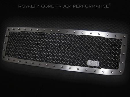 Royalty Core - GMC Sierra 2500/3500 HD 2011-2014 RC1 Main Grille Satin Black - Image 2