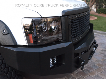 Royalty Core - GMC Sierra 2500/3500 HD 2011-2014 RC1 Main Grille Satin Black - Image 3
