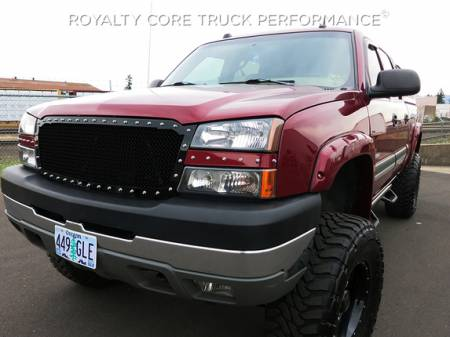 Royalty Core - Chevrolet 1500 2003-2005 RC1 Full Grille Replacement Color Matched - Image 2