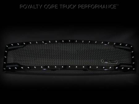 Grilles - RC2 - Royalty Core - Chevrolet 1500 2007-2013 Full Grille Replacement RC2 Twin Mesh Grille