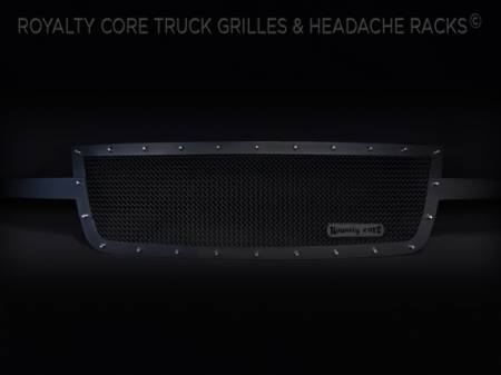 Royalty Core - Chevrolet 2500/3500 2005-2007 Full Grille Replacement RCR Race Line Grille - Image 4