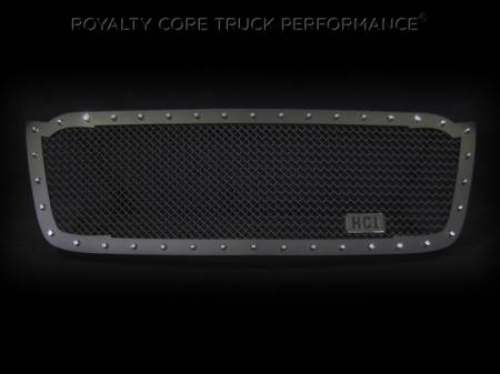2500/3500 - 2003-2004 - Royalty Core - Chevrolet 2500/3500 2003-2004 RC1 Full Grille Replacement Satin Black