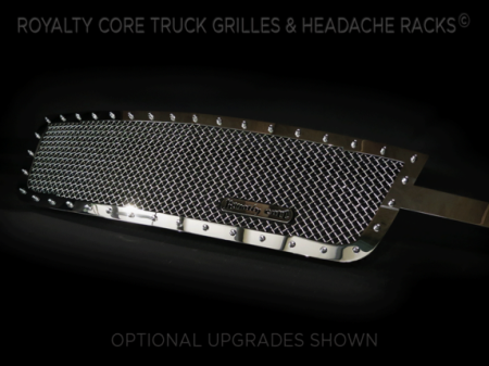 Royalty Core - Chevrolet 2500/3500 2005-2007 Full Grille Replacement RC1 Classic Grille Chrome - Image 3