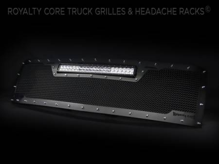 Royalty Core - Chevy 2500/3500 2007-2010 RCRX LED Full Grille Replacement-Top Mounted LED - Image 3