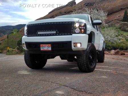 Royalty Core - Chevy 2500/3500 2007-2010 Full Grille Replacement RC1X Incredible LED Grille - Image 3