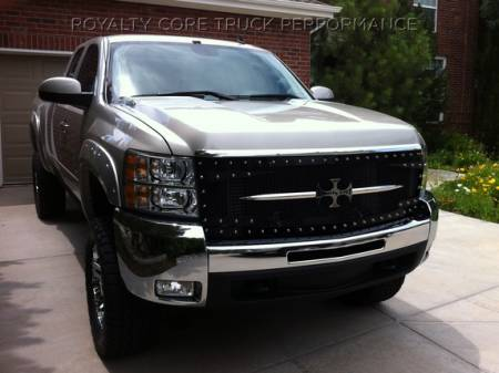 Grilles - RC3DX - Royalty Core - Chevy 2500/3500 2007-2010 Full Grille Replacement RC3DX Innovative Grille