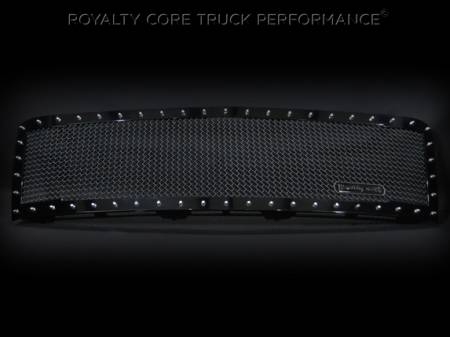 Grilles - RC1 - Royalty Core - Chevy 2500/3500 2011-2014 Full Grille Replacement RC1 Classic Grille