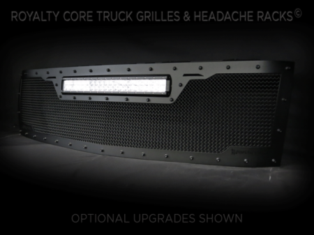 Royalty Core - Chevy 2500/3500 2011-2014 Full Grille Replacement RCRX Race Grille-Top Mount LED - Image 3