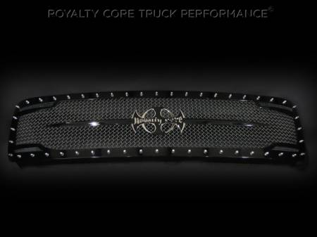 Grilles - RC2 - Royalty Core - Chevrolet 2500/3500 2011-2014 RC2 Full Grille Replacement with Sword Assembly