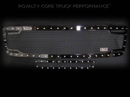 Grilles - RC2 - Royalty Core - Chevy 2500/3500 2011-2014 RC2 Full Grille Replacement & Bumper Grille Package