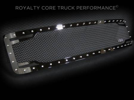 Royalty Core - Chevy 2500/3500 2011-2014 RC2 Full Grille Replacement & Bumper Grille Package - Image 2