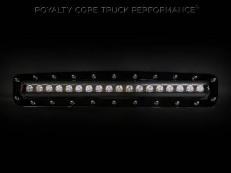 """Royalty Core - Chevy 2500/3500 2011-2014 Bumper Grille with 24"""" LED Light Bar - Image 2"""