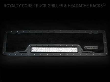 2500/3500 - 2015-2016 - Royalty Core - Chevy 2500/3500 2015-2017 RCRX LED Race Line Grille