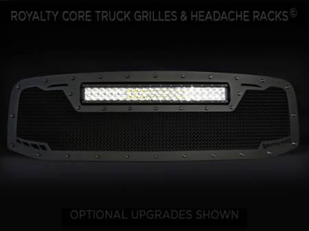 Grilles - RCRXT - Royalty Core - DODGE RAM 1500 2006-2008 RCRX LED Race Line Grille-Top Mount LED
