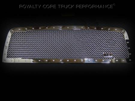 Royalty Core - Dodge Ram 1500 2009-2012 RC1 Classic Grille Chrome - Image 2