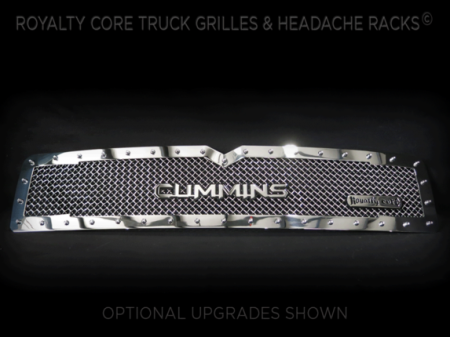 Royalty Core - Dodge Ram 2500/3500/4500 1994-2002 RC1 Classic Grille Chrome - Image 2