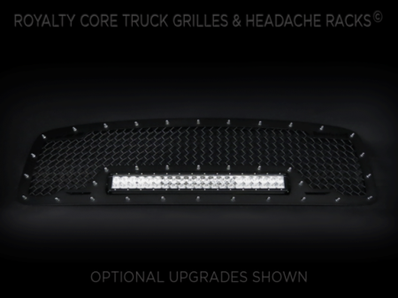 Grilles - RCRXB - Royalty Core - DODGE RAM 2500/3500/4500 2003-2005 RCRX LED Race Line Grille