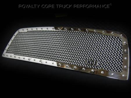 2500/3500/4500 - 2003-2005 2500, 3500, & 4500 Grilles - Royalty Core - Dodge Ram 2500/3500/4500 2003-2005 RC1 Classic Grille Chrome