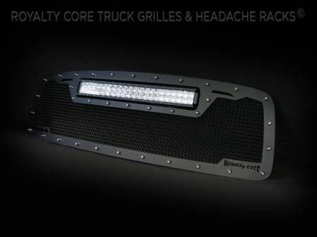 Royalty Core - DODGE RAM 2500/3500/4500 2003-2005 RCRX LED Race Line Grille-Top Mount LED - Image 4