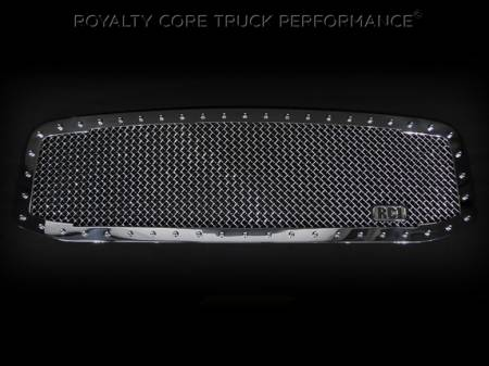 2500/3500/4500 - 2006-2009 - Royalty Core - Dodge Ram 2500/3500/4500 2006-2009 RC1 Classic Grille Chrome