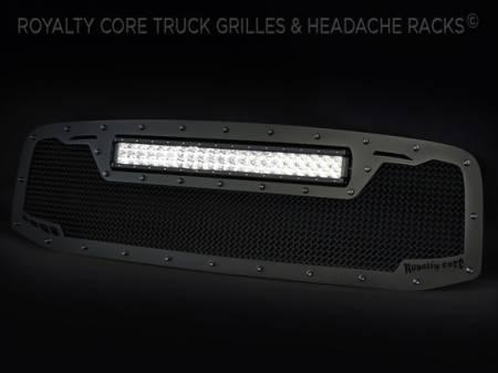 Royalty Core - DODGE RAM 2500/3500/4500 2006-2009 RCRX LED Race Line Grille-Top Mount LED - Image 4