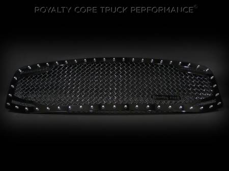 2500/3500/4500 - 2006-2009 - Royalty Core - Dodge Ram 2500/3500/4500 2006-2009 RC2 Twin Mesh Grille