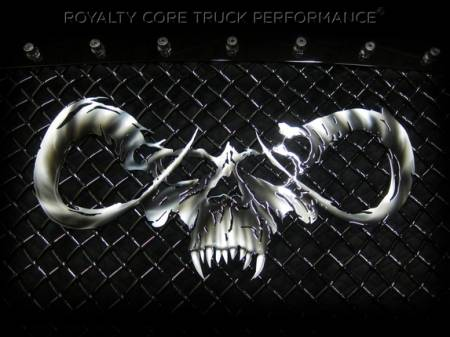Royalty Core - Dodge Ram 2500/3500 2006-2009 RC2 Main Grille Twin Mesh with Goat Skull Logo - Image 2