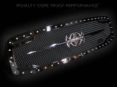 Royalty Core - Dodge Ram 2500/3500 2006-2009 RC2 Main Grille Twin Mesh & Cummins Sword Assembly - Image 2