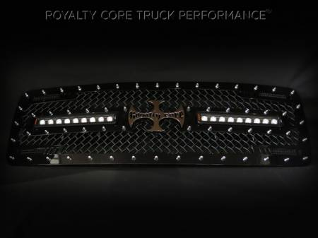 2500/3500/4500 - 2006-2009 - Royalty Core - Dodge Ram 2500/3500/4500 2006-2009 RC2X X-Treme Dual LED Grille